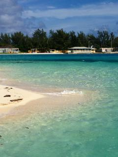Secluded Beach in North Bimini
