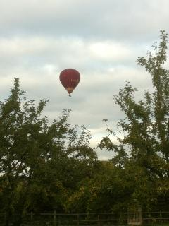 Leeds castle ballon