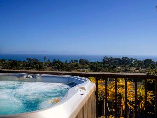 Panoramic ocean view home with hot tub in Mesa - Blue Horizon, Santa Bárbara