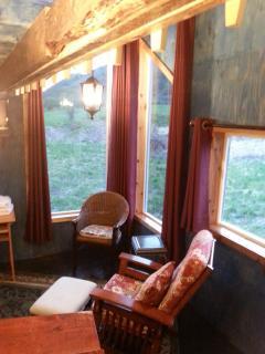 Main living area too