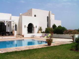 Villa des Oliviers; Pool and staff