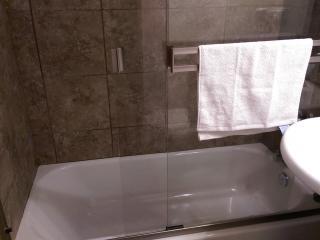 Tiled Tub & Shower