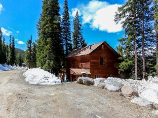 Cozy, dog-friendly cabin w/mountain views & deck plus park access