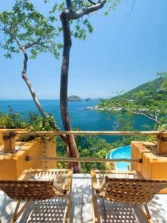 8 (out of11)bedroom ocean-front vacation rental villa in Puerto Vallarta Mexico