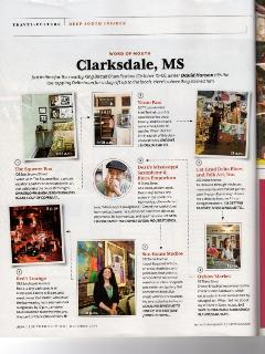 Southern Living Magazine Squeeze Box mention