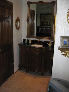 Vanity in Master Bedroom
