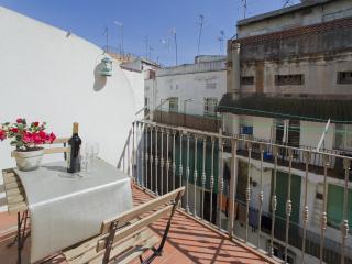 Habitación con terraza, Barcelona