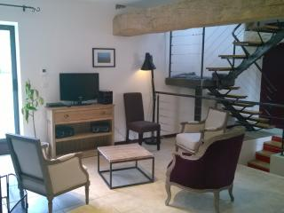 Family home in wine village with garden sleeps 7/9