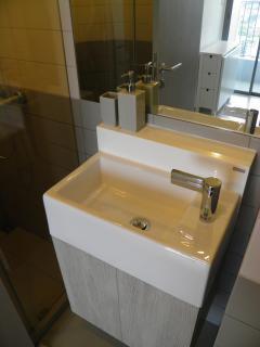 The en-suite toilets