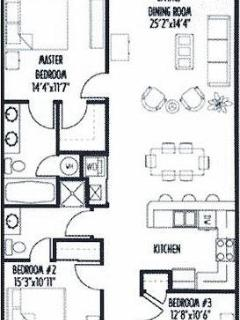 Unit 33 Floor Plan