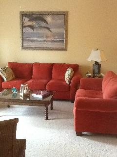 Living Room, a place to relax. Large screen TV, books and games.  Feel free to enjoy.