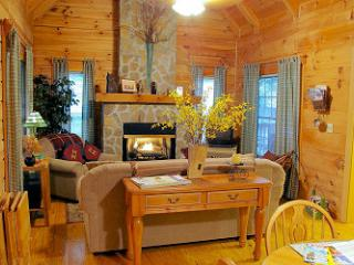 SPECIAL RATES Creek Waters Cabin,Awesome Mtn Views