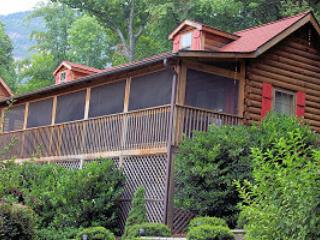LOCATION! - Autumn Splendor Log Cabin w/ Mtn Views, Lake Lure