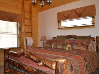 Brand New 2 BR 2 Bath Log Cabin with Mountain View