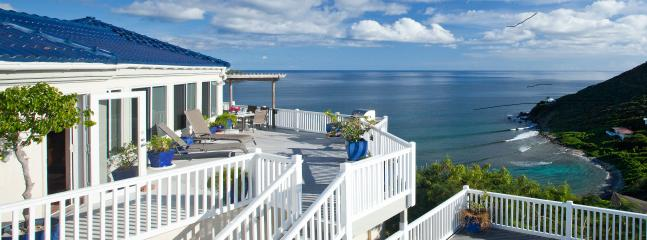 Andante by the Sea, Romantic Oceanfront Getaway, Unparalleled Views, 3 AC Bdrms, 3 ensuite Baths