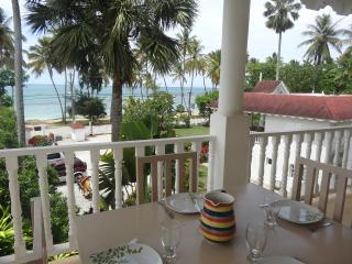 Superb apartment for 6 people in front of the sea, Las Terrenas