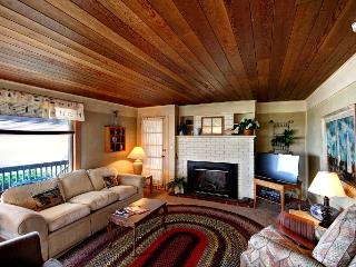 Living Room with Gas Fireplace and Flat Screen TV