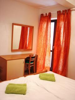 double room with exit to terrace