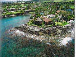 5 Bedroom West Maui Ocean Front Hawaiian Home