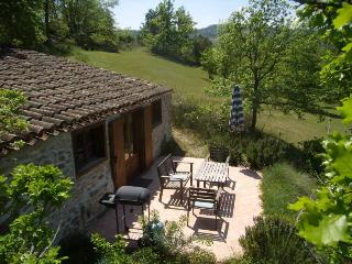 charming stone house, big pool, romantic grounds
