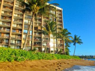 Valley Isle Resort Oceanfront 1 Bdrm #605-BBB A+, Honokowai