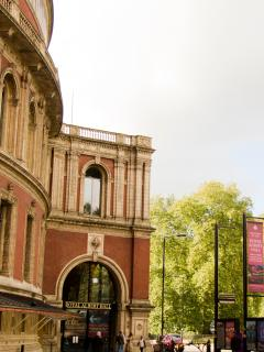 You're within striking distance of the Royal Albert Hall