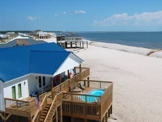 Island Time II - Great Gulf views and a Private Pool, too! 4 Bedroom House on the Gulf, Dauphin Island