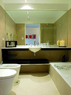 Bathroom with Shower and Tub and Toilet and Bidet - Electronic Scale included
