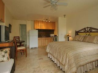 Beautifully Updated Studio Short Walk to Beaches and Attractions Full Kitchen, Honolulu