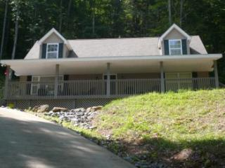 Relax in the Smoky Mountains Creek Frontage