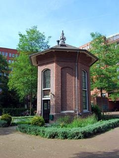 Historical monument in Amsterdam