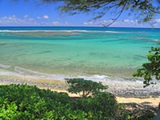 Oceanfront Beauty, 3 bedroom house, North Shore, Haena