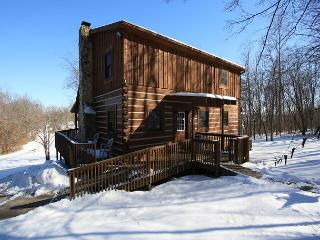 Hocking Hills Cabin with Hot Tub and Game Room, Logan