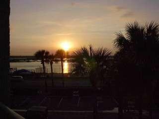 SUNSET ON INTRACOASTAL