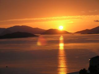 Un autre lever du soleil depuis le balcon !