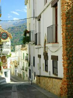 Quaint streets of Guejar Sierra