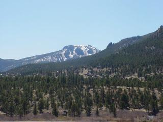 View of Twin Sisters from front yard