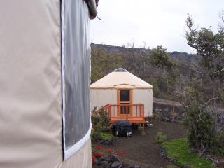 view of studio from 2 br yurt