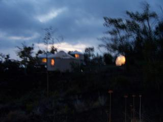 property at dusk