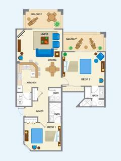 Layout of main floor