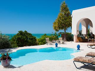 2-storey beachfront villa with sweeping sea views from every room, Providenciales