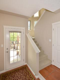 Staircase to upper floor bedrooms
