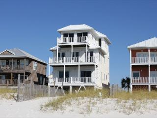 Piper's Nest:  6 BR Gulf Front on Cape San Blas with community pool
