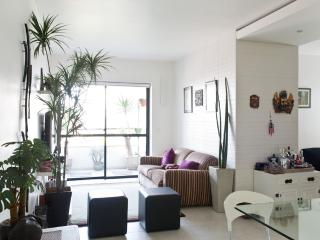 Bright 1 Bedroom Apartment with Pool in Vila Olimpia, Sao Paulo
