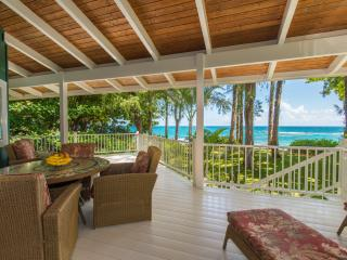 Ka Hale Kaiola beachfront home - Tunnels Beach