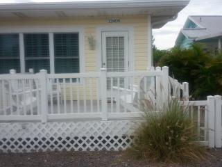 3 bedroom, 2 bath home, just steps to the beach