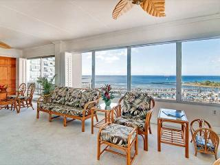 Rarely Available Sweeping Ocean View 2BR Ilikai Condo with Tons of Amenities!, Honolulu