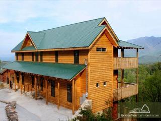 Smokerise Lodge  Mtn Views  2 Hot Tubs  Pets  Pool Access  Free Nights, Gatlinburg