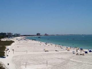 Beachfront vacation rental at Caprice on St Pete Beach Florida