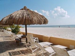 Beachfront vacation rental at Villa Madeira on Madeira Beach Flo